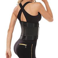 Elastic Waist Support Belt Gym Lifting Back Lumbar Brace Corset Man Women Unisex