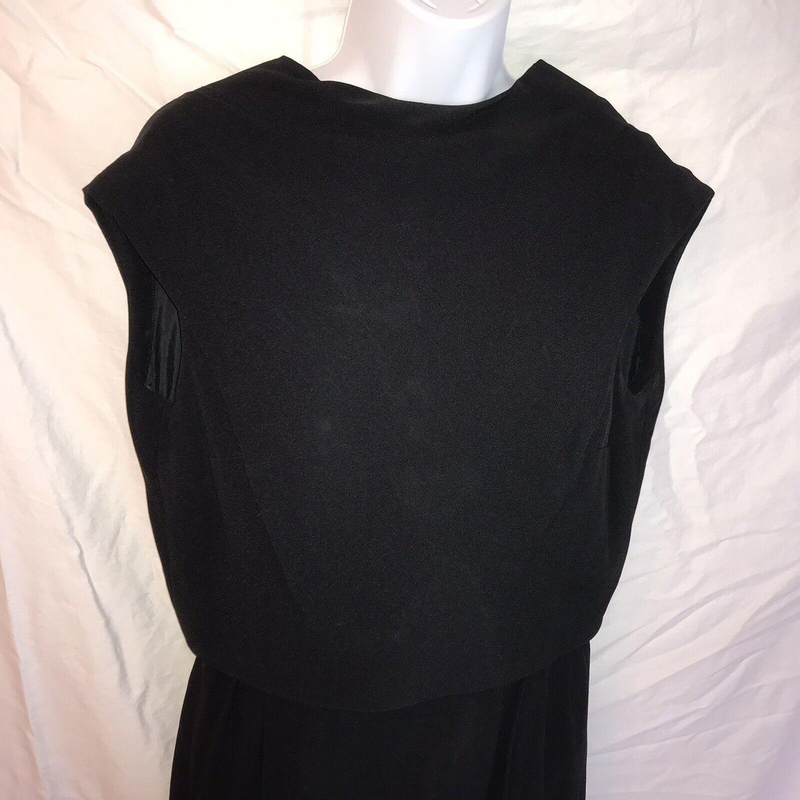 Ceil Chapman Vintage Black Dress - image 3