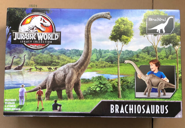 "BRAND NEW SEALED Mattel Jurassic World Legacy Collection Brachiosaurus GFH12 42"""