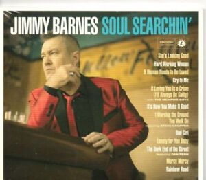 Jimmy-Barnes-Soul-Searchin-039-Deluxe-2CDs-New-amp-Sealed-Digipack