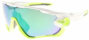 Oakley Jawbreaker Sunglasses OO9290 03 Polished White Jade Iridium Lens BNIB