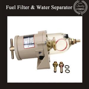 New-Diesel-Truck-Diesel-Marine-Boat-Fuel-Filter-amp-Water-Separator-500FG-500FH