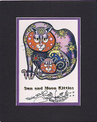 STAR KITTY kitten CAT print Feline ART Jamie Hayes 8x10