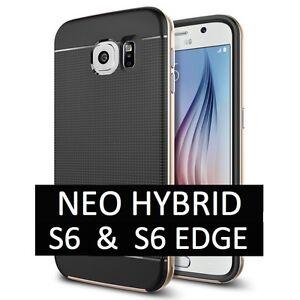 Coque-NEO-HYBRID-Galaxy-S6-amp-S6-Edge-1-Film-Offert-Samsung-Slim-Antichoc