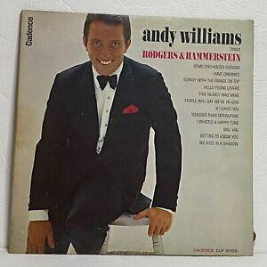 Andy Williams – Sings Rodgers & Hammerstein: Cadence 1963 Vinyl LP (Jazz)
