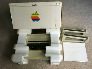 Vintage-Apple-Imagewriter-Printer-Model-A9M03030-w-box-cables-amp-stand