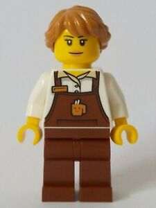 LEGO-CITY-Version-Barista-Female-Nouveau-ORIG-LEGO-60233-cty1049-Minifigures-GB2