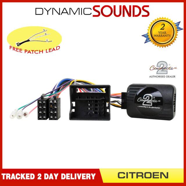 Eonon Joying Auto Stereo Volante Adattatore di Controllo per Citroen C2 C3 C4 C5