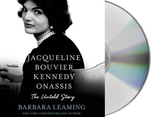 1 of 1 - USED (GD) Jacqueline Bouvier Kennedy Onassis: The Untold Story by Barbara Leamin