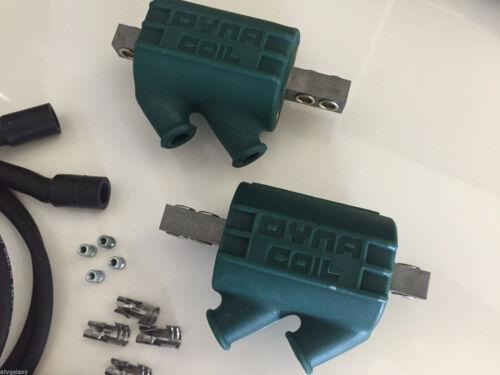 Dyna Ignition Coils 3 ohm Dual Output DC1-1 Wires DW-200 Kawasaki ZX1000 1000