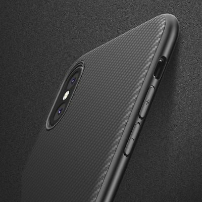 new products 65b3f 2915e Ultra Thin Slim Carbon Fiber Protective Case Cover For iPhone XS / XS Max /  XR | eBay