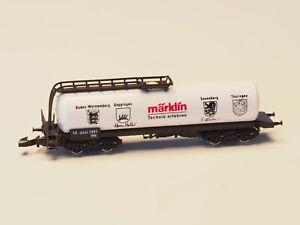 Marklin-Z-scale-4-axle-Tank-Car-Technik-erfahren-1991-new-in-box-hard-to-find