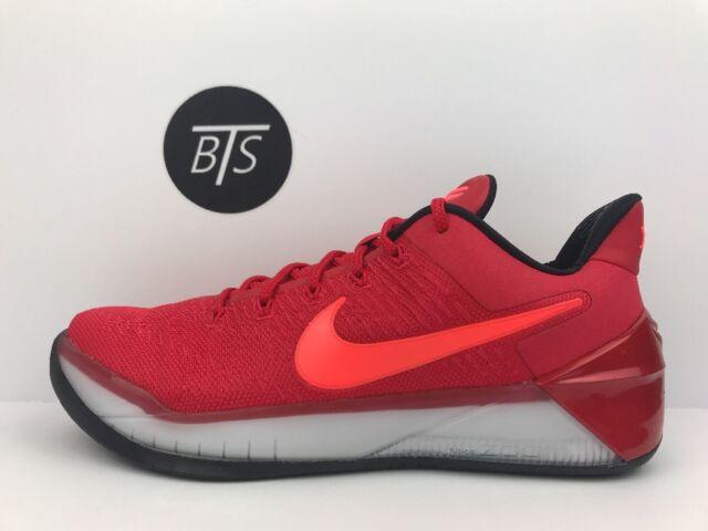 newest ea67f fd043 Nike Kobe AD Mens Basketball Shoes 10 University Red Black 852425 608