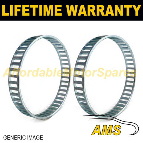 2X FOR MERCEDES SL R129 48 WINDOW 92MM ABS RELUCTOR RING CV JOINT AR5601