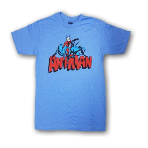 """Marvel /""""ANT-MAN/"""" Men/'s Light Blue Short Sleeve T-shirt New With Tags"""