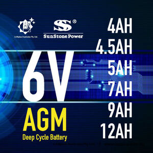 Brand-New-6V-4-0AH-4-5AH-5AH-7AH-9AH-12AH-AGM-Sealed-Lead-Acid-Battery