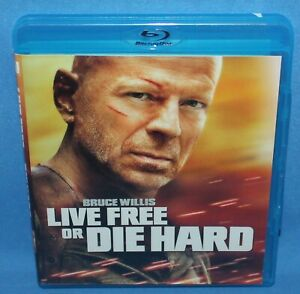 Live Free or Die Hard - Blu Ray (Bruce Willis, Action ...