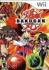 WII GAME  BAKUGAN - BATTLE BRAWLERS - BRAND NEW - FACTORY SEALED