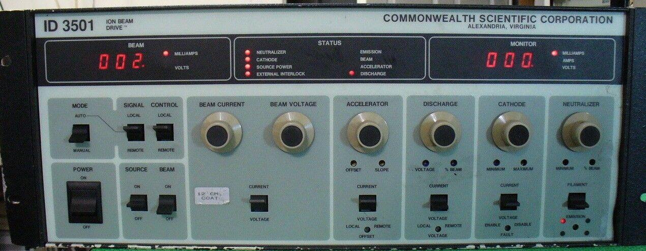 AE ID3501 Ion Drive Advanced Energy 3151100-003 Commonwealth Scientific ID 3501