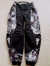 Women's/Juniors FOX RACING 180 Motocross Pants - Size 7/8 - Black
