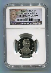 South-Africa-Nelson-Mandela-R5-Year-2000-Coin-NGC-Proof-PL-64-5R-Mandela-Label