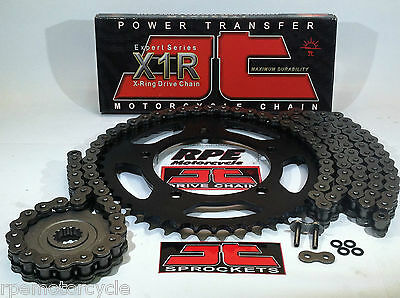 KAWASAKI ZZR600 ZZ-R 600 '05/08 JT X-Ring CHAIN AND SPROCKET KIT *OEM,QA, or Fwy
