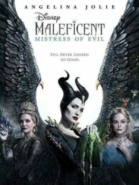 Maleficent Mistress Of Evil Dvd 2019 For Sale Online Ebay