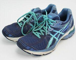 gama completa de especificaciones apariencia elegante el más nuevo Asics Gel Flux 3 athletic sneakers aqua teal blue Women's US 10 ...