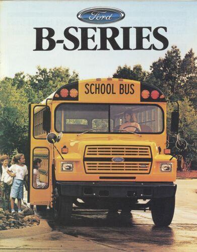 Mint! 1988 Ford B-Series School Bus B-600 B-700  Brochure