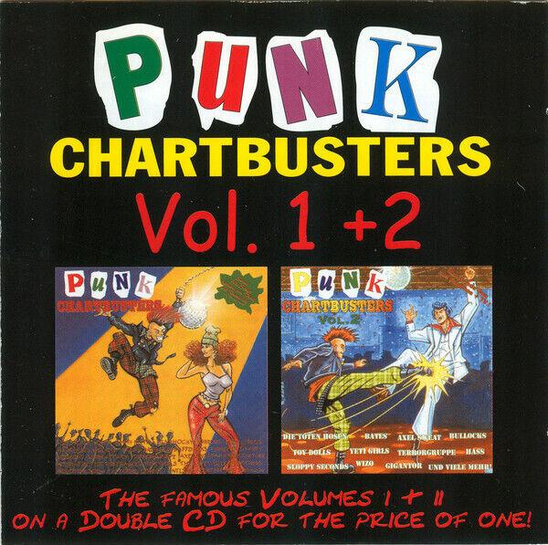 PUNK CHARTBUSTERS Vol. 1 & 2  2CD (1995 Wolverine) neu!