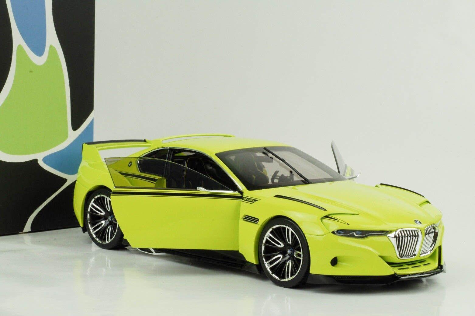 BMW 3.0 Csl Tribute Light Green 1 18 Norev Dealer Collection