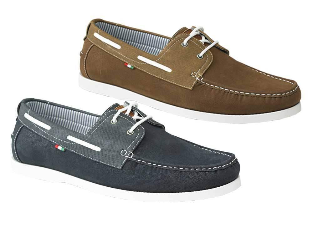 Mens Big Size Lace Up Deck shoes Sizes UK 12-15