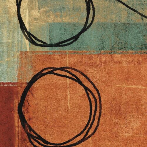 """31/""""x31/"""" CONSTANT II by BRENT NELSON ABSTRACT CANVAS"""