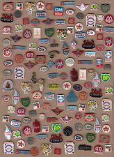 Oil Fuel Petrol Logo Vintage ESSO TIGER SET 1960s pin badges Original