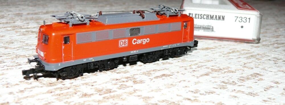 eh  Fleischmann 7331 e-Lok br 139 DB cargo pista n
