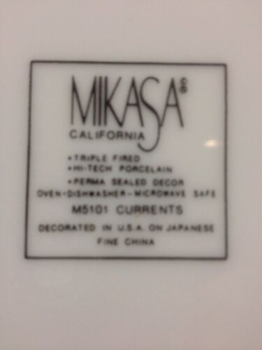 "Mikasa Currents California 8 1//2/"" Salad Plate M 5101"