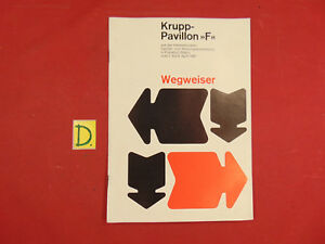 Antiquitäten & Kunst AnpassungsfäHig Wegweiser Krupp-pavillon F Sanitär Der Heizungsausstellung Starke Verpackung Alte Berufe