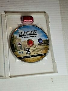 Sony PS3 Call of Juarez Bound in Blood Video Game Tested Cleaned