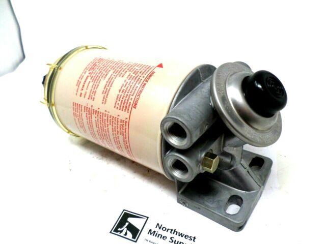 490R Racor Diesel Fuel Filter Head Separator Primer Pump Heated R90p for  sale online | eBayeBay