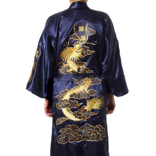 Plus Size Bademantel Nachtwäsche Seide Schlafanzug Vertuschen Krawattenfront