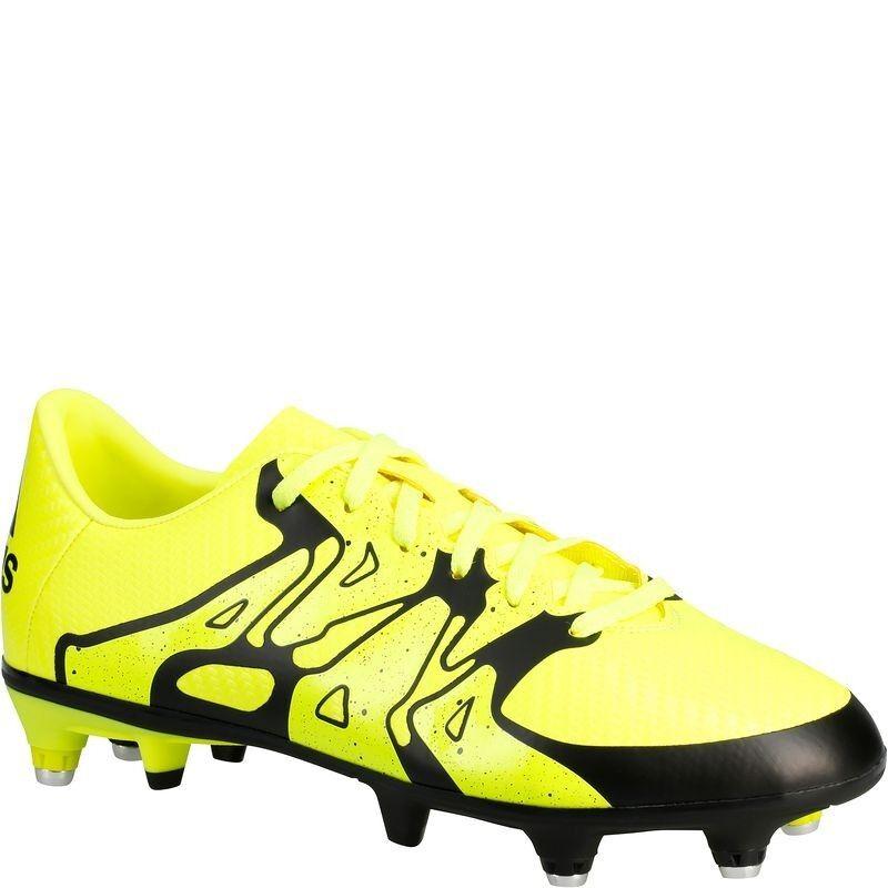 Adidas Performance X 15.3 SG Kinder Fußballschuhe, yellow, Gr. 34