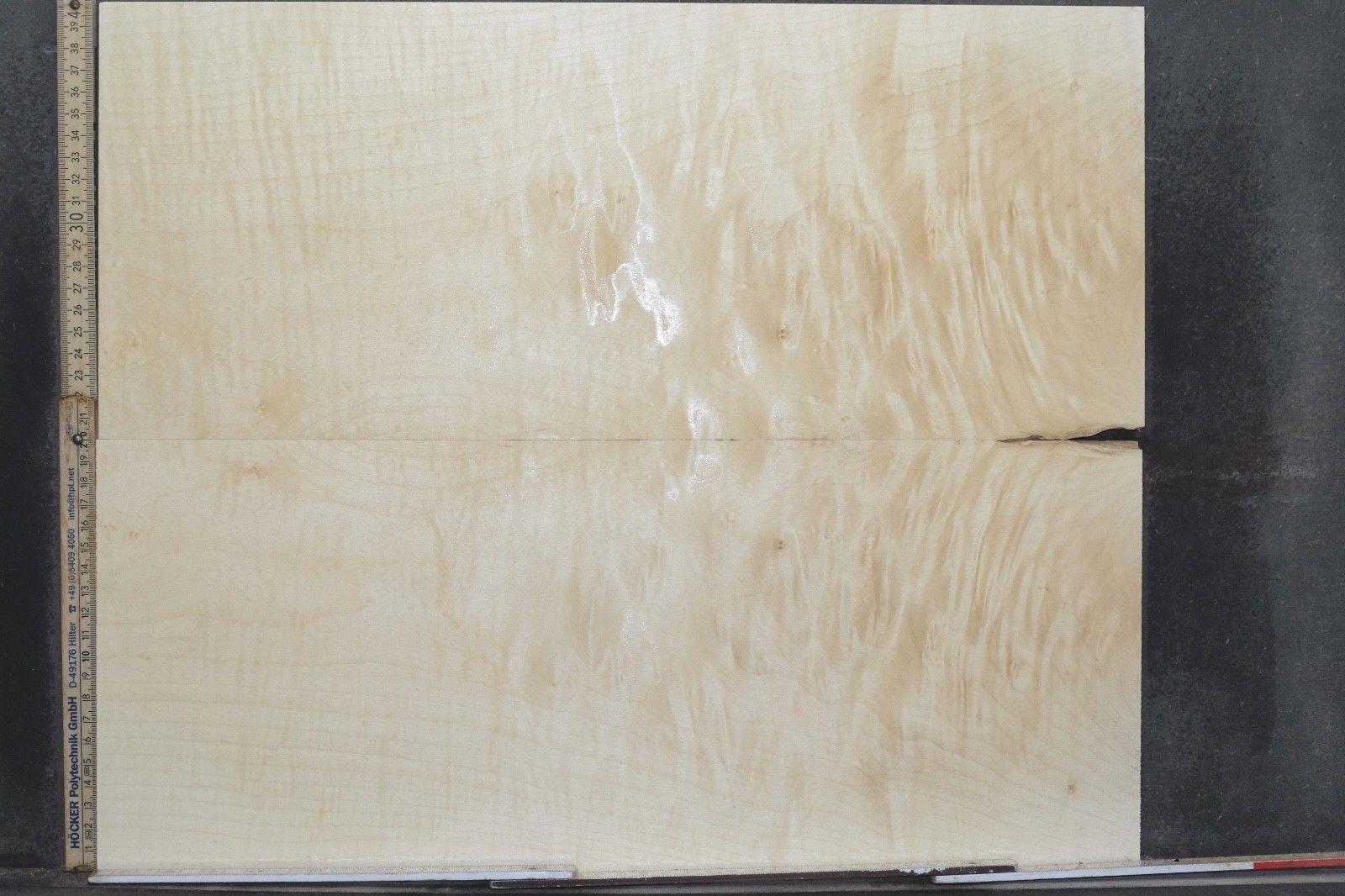 Tonewood Riegel Ahorn Flamed Maple 11,2 mm Aufleimer Guitar Tonholz Droptop 295