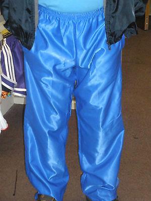 Nylon Glanz Satin Track Pants/Jogging Bottoms Small - XXL 70s & 80s ,