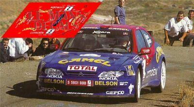 Decals Citroen ZX Kit Car Rally Canarias 1997 1:32 1:43 1:24 slot calcas Puras