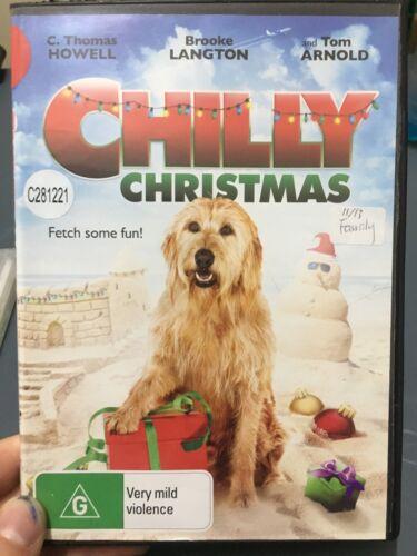 1 of 1 - Chilly Christmas ex-rental region 4 DVD (2012 family movie)