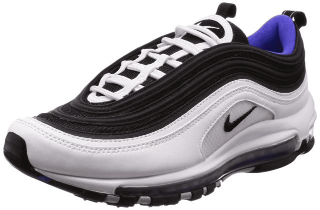 038d8a11683 Nike Air Max 97 921826-103 White Black Persian Violet DS Size 12 for ...