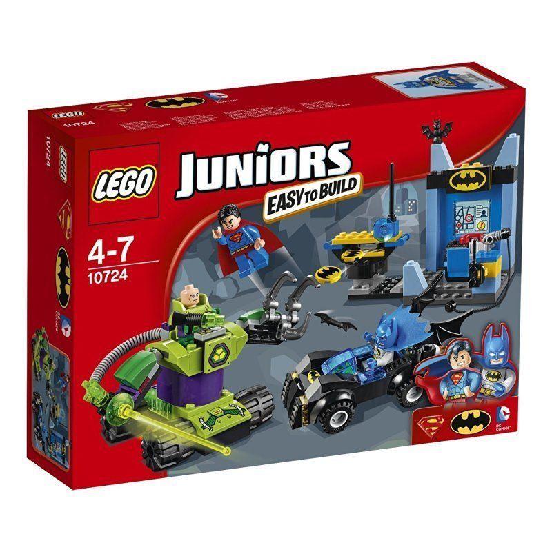 LEGO 10724 Juniors BATMAN E SUPERMAN VS LEX LUTHOR Set di costruzione