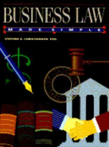 Business Law Made Simple by Stephen G. Christianson