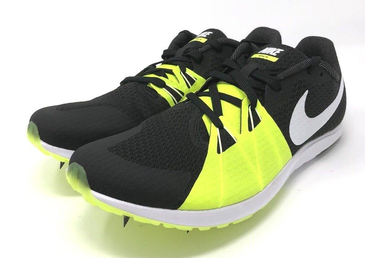 Nike Zoom rival Volt XC Hombre racing track Shoe Negro / Volt rival / blanco 904718-017 cómodo casual salvaje efd5e0
