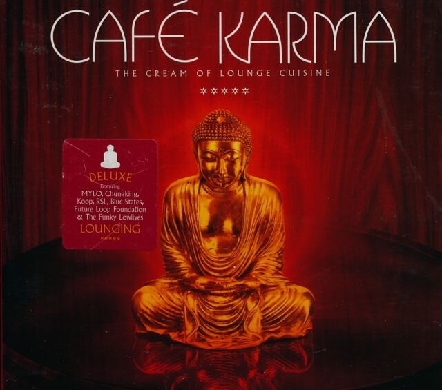Cafe Karma (The Cream Of Lounge Cuisine) by Various Artists 2CD